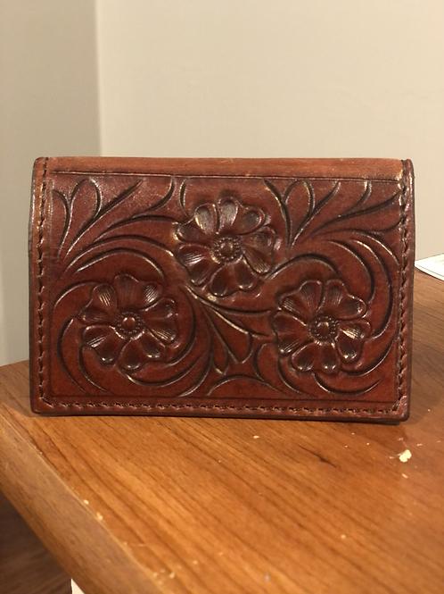 Martin Saddlery Business Card Holder