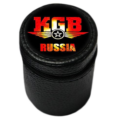 "Набор рюмок (4 шт. по 70 мл.) ""KGB Russia"""