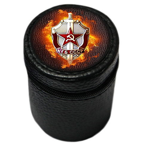 "Набор рюмок (4 шт. по 70 мл.) ""КГБ СССР"""