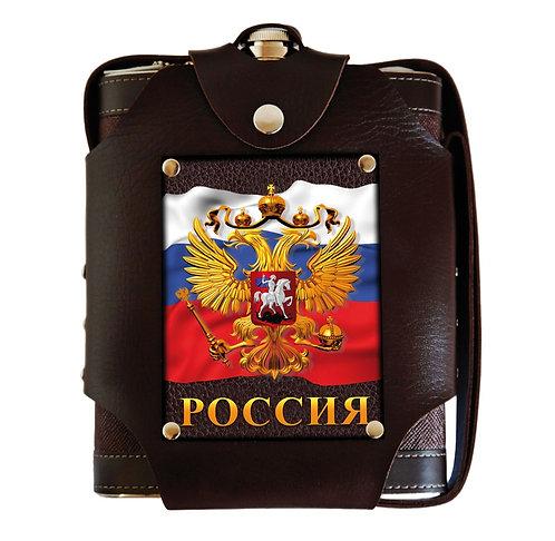 """Фляжка большая 1,5 л """"Россия"""""""