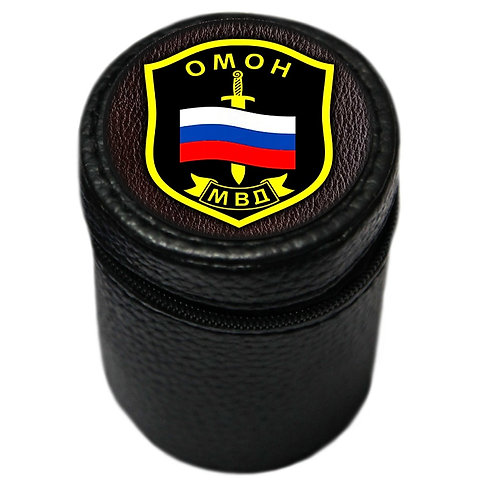 """Набор рюмок (4 шт. по 70 мл.) """"ОМОН МВД"""""""