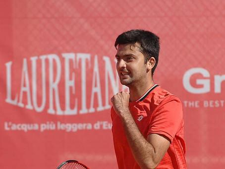 Tomás Barrios logra su tercera victoria consecutiva en el Challenger de Barcelona