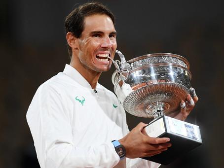 Rafael Nadal gana su 13° Roland Garros y alcanza los 20 Grand Slams de Federer