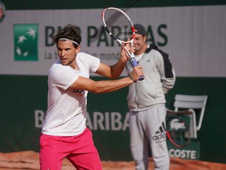 """Thiem de cara a Roland Garros: """"La preparación en arcilla no fue la mejor"""""""