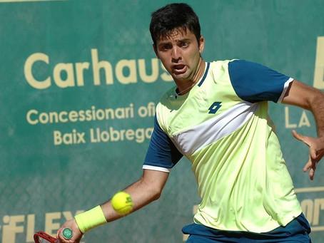 Tomás Barrios finaliza su buena racha y se despide del Challenger de Barcelona