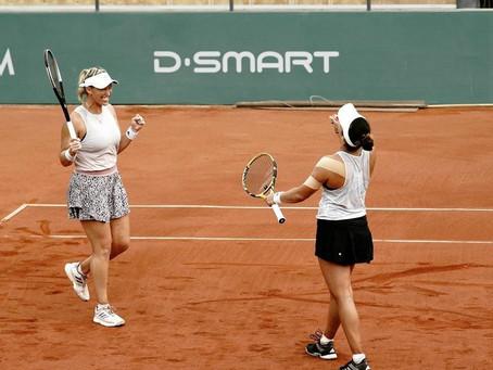 Guarachi hace historia y se convierte en la primera chilena cuartofinalista en Roland Garros