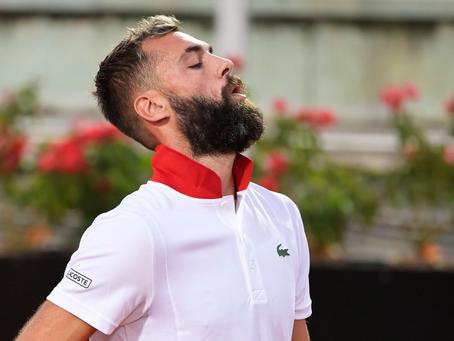 La locura de Benoit Paire en su derrota en el Masters 1000 de Roma