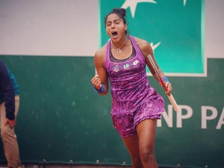 Daniela Seguel derrota a Timea Babos y avanza en Francia