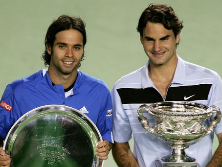 Solo dos sets ganados: El adverso registro de chilenos versus el número uno del mundo en Grand Slams