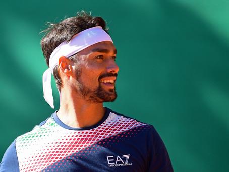 Fabio Fognini, positivo en COVID-19 y baja obligada en el ATP de Cerdeña