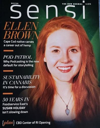 Ellen Brown Sinse Magazine Cover