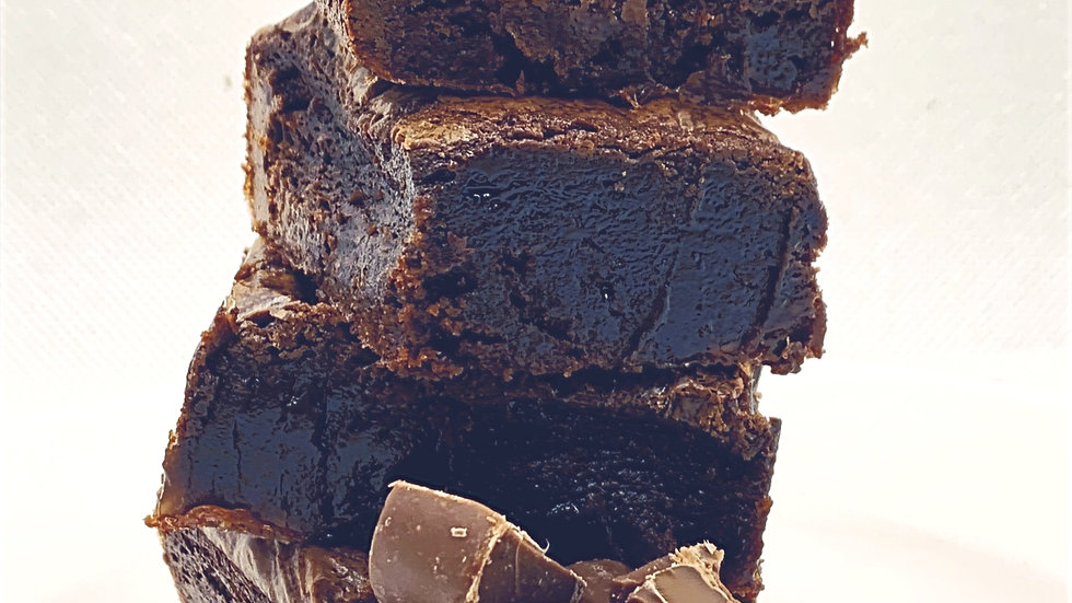 The Kitchen Table Salted Rolo Brownie