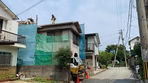 解体工事完了(7層スキップフロアの家)