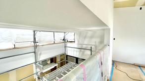 内装仕上げ工事(7層スキップフロアの家)