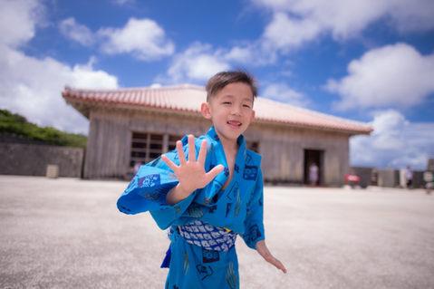 沖繩首里城 和服寫真 2018-08-14-12-16-14-VA4_2782.