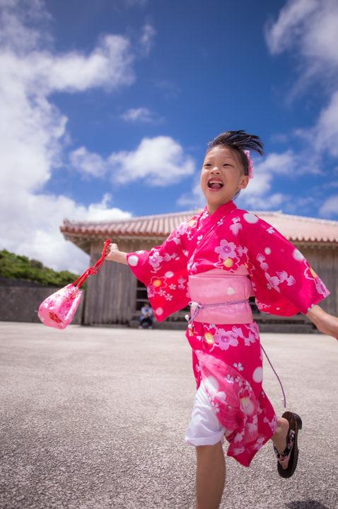 沖繩首里城 和服寫真 2018-08-14-12-16-07-VA4_2775.