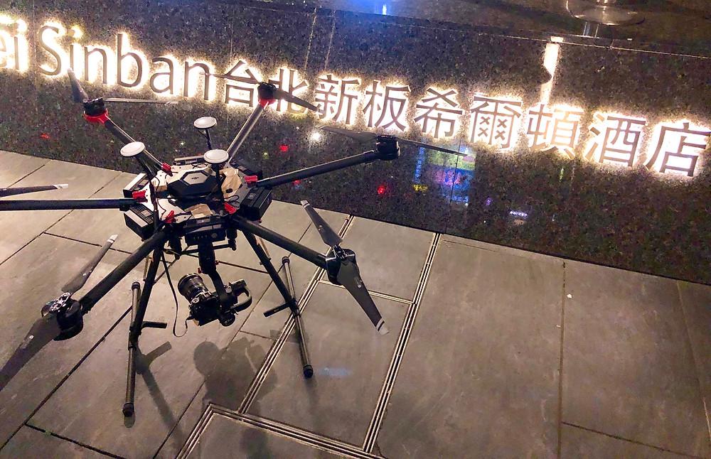 大型六軸無人機 可掛載電影機/單眼相機