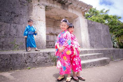 沖繩首里城 和服寫真 2018-08-14-11-46-52-VA4_2490.
