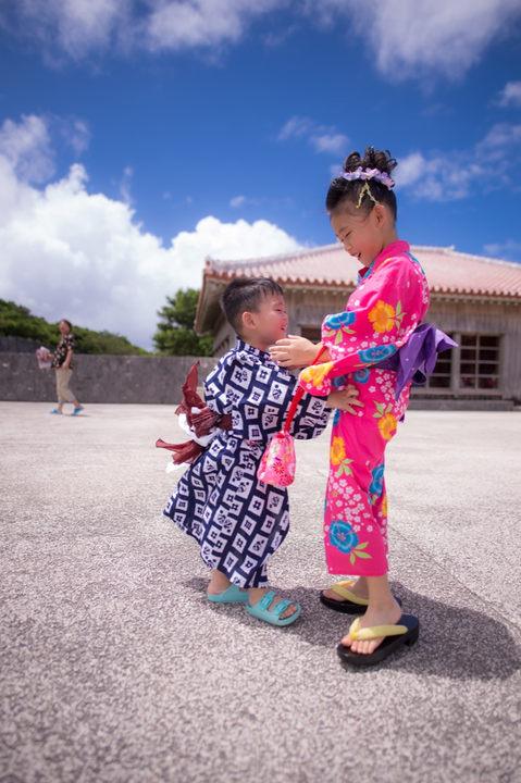 沖繩首里城 和服寫真 2018-08-14-12-15-32-VA4_2767.