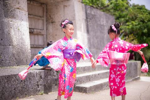 沖繩首里城 和服寫真 2018-08-14-11-47-44-VA4_2502.