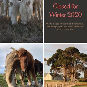 Farm Closing for Winter