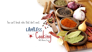 Lawless Cooking YouTube Channel Banner-2