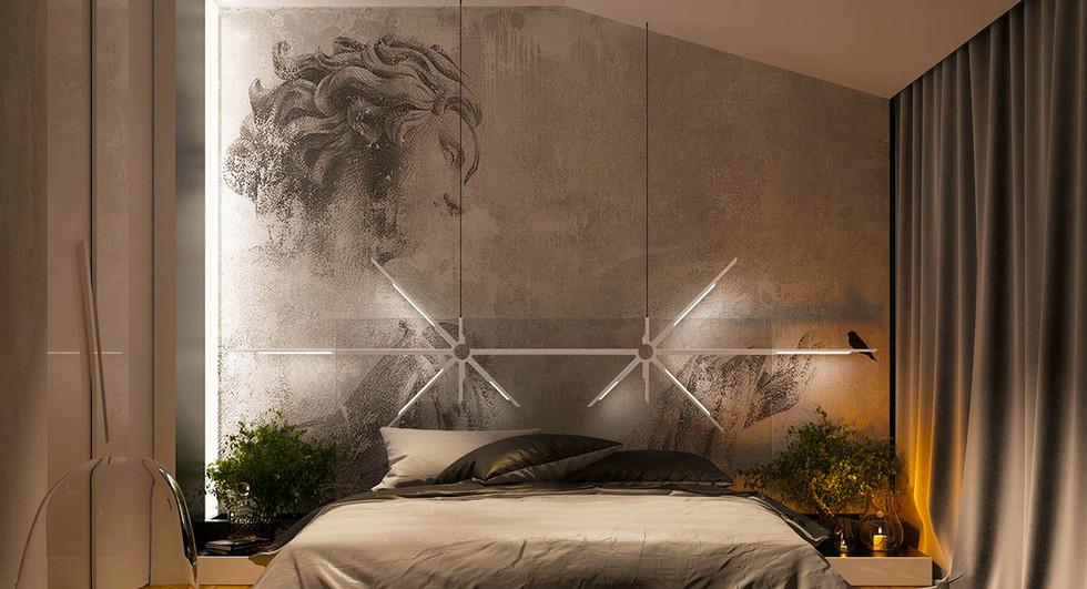 concrete-sketch-art-accent-wall-paint-id