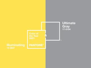 Uma não, duas: cores do ano 2021.