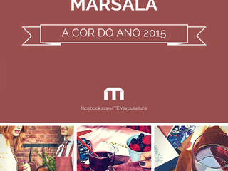 Marsala: a cor do ano 2015