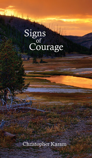 Signs of Courage Novel (Signed by Author)