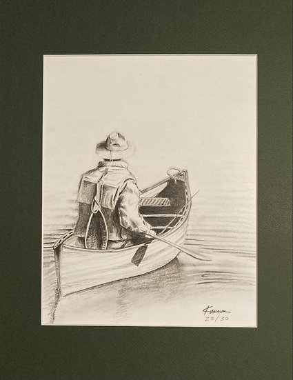 """Fisherman"" Limited Edition Signed Print (30 print series) Only a few remaining."