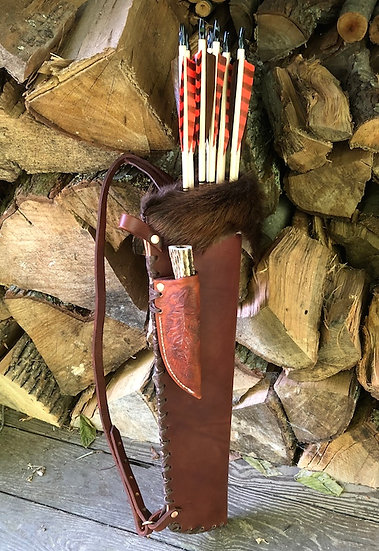 Knife 212 and Handmade Quiver Combo