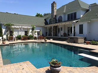 Pool at Holiday Stables Bed and Breakfast, Annapolis area, Harwood, Maryland