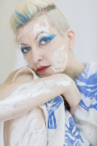 Karin Augusta Nogva portrett