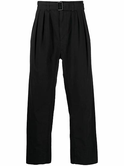 Lemaire - pantalón recto con pinzas