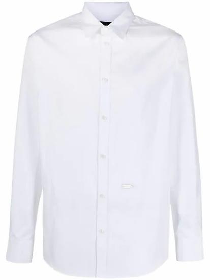 Dsquared2 - camisa con cuello