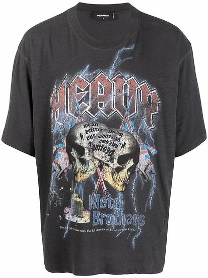 Dsquared2 - skull t-shirt