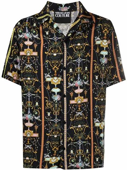 Versace Jeans  Couture -  camisa estampado barroco