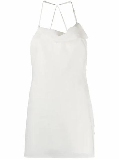 Jacquemus - vestido cuello halter