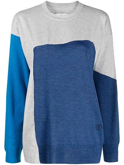 MM6 Maison Margiela - jersey diseño colour block