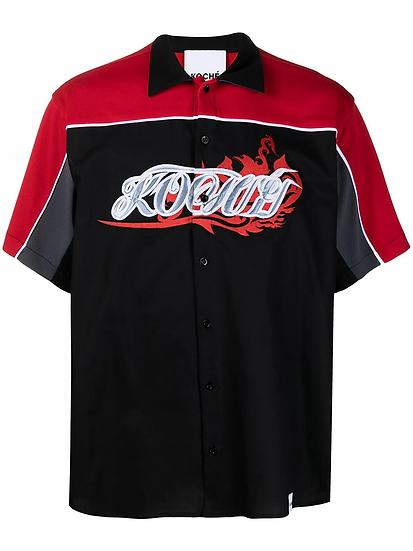 Short sleeve shirt with logo