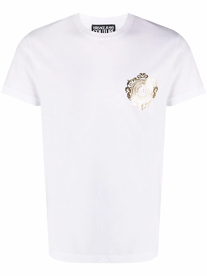 Versace Jeans  Couture - t-shirt logo barroco