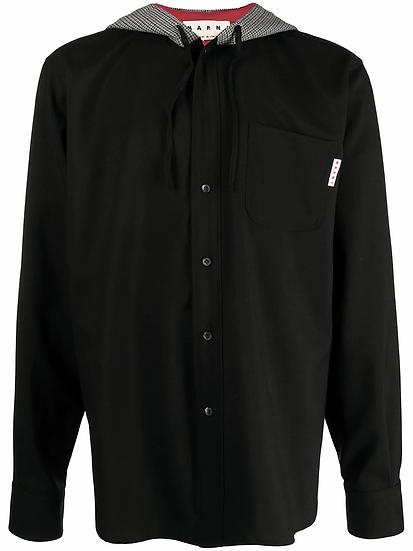 Marni - camisa con capucha