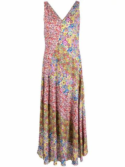 M Missoni - vestido estampado floral
