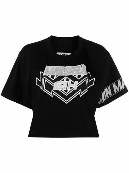MM6 Maison Margiela - top logo