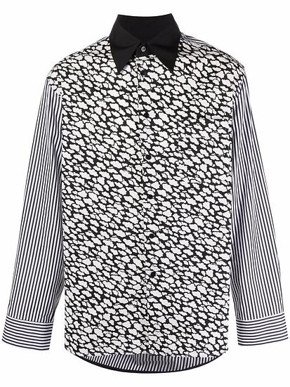 Marni - Camisa con estampado de nubes