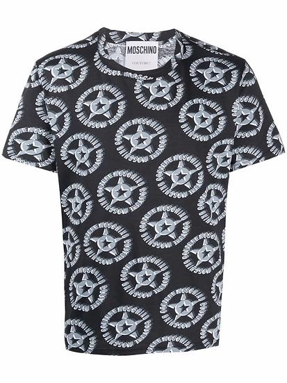 Moschino - camiseta logo estampado