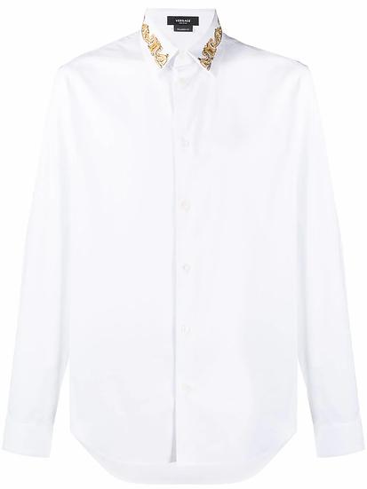 Versace - camisa detalle bordado