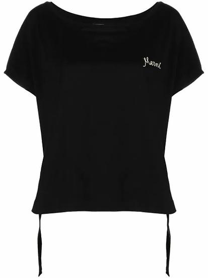 Marni - t-shirt logo bordado