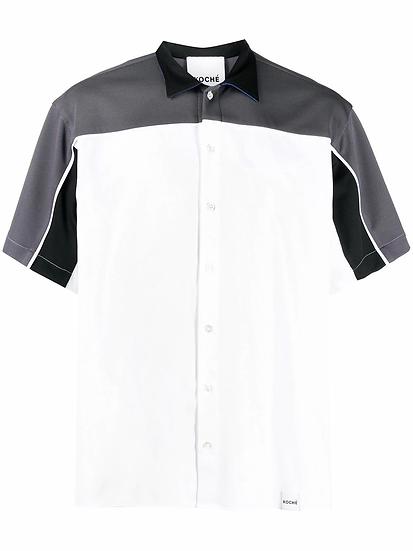 Koché - camisa diseño color block